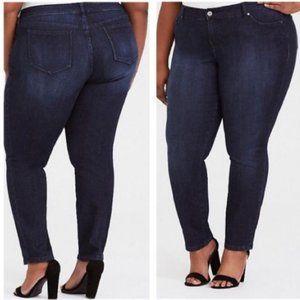Torrid Denim Dark Wash Skinny Jeans Size 14